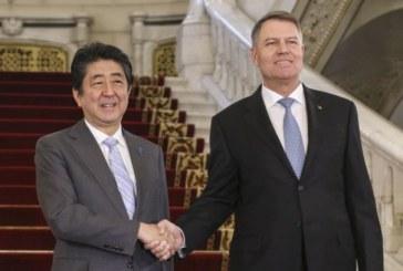 Iohannis: Am decis ca relatia dintre Romania si Japonia sa fie ridicata la nivel de parteneriat strategic