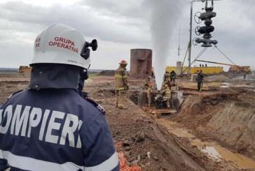 Satu Mare: Sonda de gaze de la Moftinu Mare, inchisa dupa 20 de zile