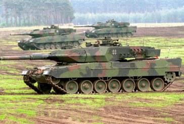 Germania trimite tancuri suplimentare in Lituania, intr-o demonstratie de forta impotriva Rusiei