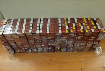 Suciu de Sus: Prins de politisti in timp ce transporta cu autoturismul 5.000 pachete cu tigari de contrabanda