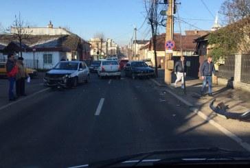 Accident rutier pe strada Progresului din Baia Mare (FOTO)