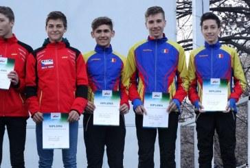 Locul 6 la Campionatul European de Orientare – Schi pentru trei sportivi de la CS Stiinta Electro Sistem Baia Mare