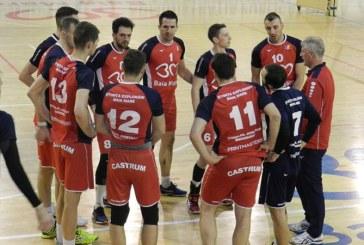 Volei masculin: Stiinta Explorari invinge Universitatea Cluj cu 3-0