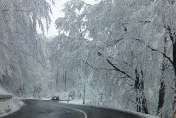 Maramures: Circulatie rutiera in conditii de iarna pe sectoarele de drumuri nationale