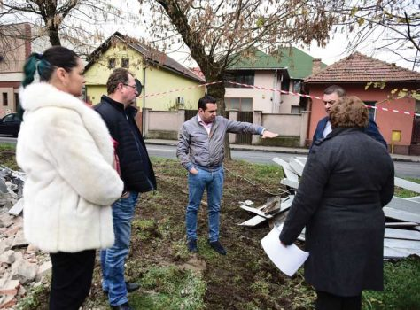 USR Maramures despre taierea copacilor din Piata 1 Iunie: Un nou abuz marca Catalin Chereches