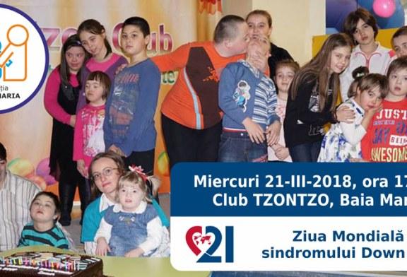 Ziua Mondiala a Sindromului Down, aniversata pentru al patrulea an consecutiv in Baia Mare