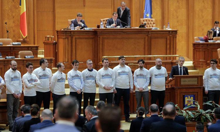 """""""NU"""" justitiei facute de la sediul PSD din Kiseleff"""