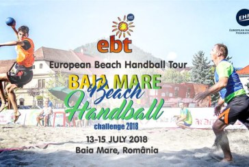 Baia Mare Beach Handball Challenge 2018, intre 13 – 15 iulie