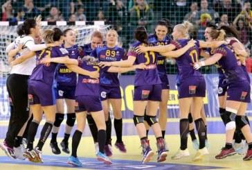 Handbal feminin: Romania a invins dramatic Rusia, in preliminariile EURO 2018