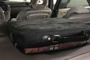 Un maramuresean a ramas fara autoturism deoarece transporta tigari de contrabanda