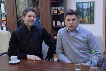 Ionut Lupescu si Florin Raducioiu s-au intalnit cu reprezentantii judetului Maramures