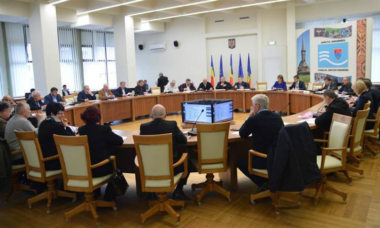 Sedinta ordinara: Consilierii judeteni, chemati sa voteze aproape 30 de proiecte