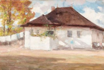 """Tabloul """"Casa pictorului de la Campina"""", de Grigorescu, adjudecat la 75.000 de euro"""