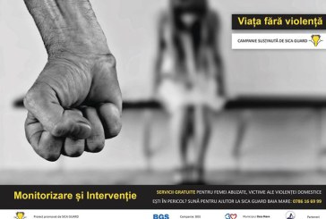 Victimele violentei domestice din Baia Mare, pazite gratuit in propria casa printr-o campanie inedita de protectie