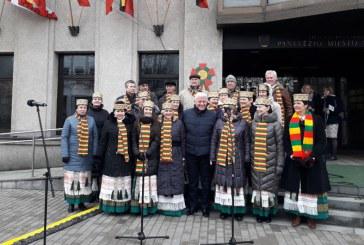 O delegatie a judetului Maramures prezenta in Panevezys, la celebrarea centenarului independentei Lituaniei