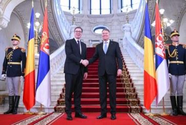 Iohannis: Relatiile dintre Romania si Serbia sunt foarte bune si vor fi mai bune