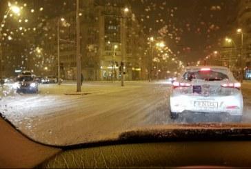 Zapada de martie a acoperit orasul: Reactia baimarenilor (VIDEO)