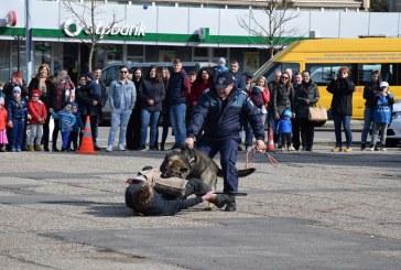 Baia Mare: Copiii au venit sa sarbatoreasca Ziua Politiei Romane