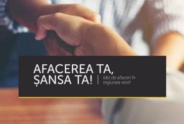 "Afacerea ta, Sansa ta! – Idei de afaceri in Regiunea Vest – Program de antreprenoriat"", POCU/82/3/7/ 106743"