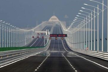 China bate un nou record la infrastructura: un pod de 55 km lungime va fi inaugurat luna aceasta
