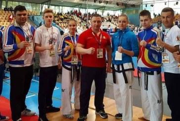 Taekwon-do ITF: Medalii pentru CS Dragonul Baia Mare la CE din Slovenia