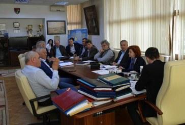 Intalnire de lucru la Consiliul Judetean pe proiectul Drumului Nordului