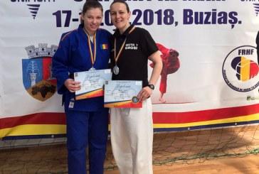 Politiste maramuresene, pe podium la Campionatul National de Unifight organizat de MAI