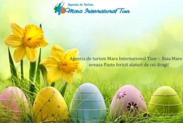 Agentia Mara International Tour va ureaza Paste fericit alaturi de cei dragi!