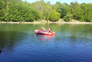 Posibila persoana inecata in lacul Borcut