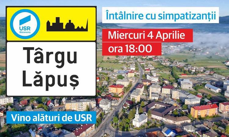 USR Maramures deschide filiala la Targu Lapus