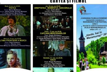 """Caravana filmului romanesc – Cartea si filmul  ajunge la""""Zilele Maramuresului–Haida, hai in Maramures"""""""