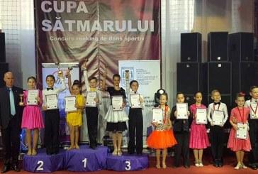 11 medalii si alte 12 finale pentru Prodance 2000 la Cupa Satmarului