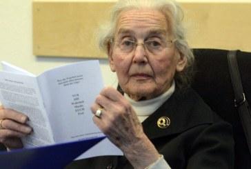 """Autoritatile germane o cauta pe """"bunica nazista"""" care nu s-a prezentat la inchisoare pentru executarea pedepsei"""