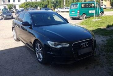 Audi A6 furat din Marea Britanie, descoperit in Sighetu Marmatiei