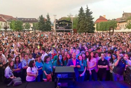 """Ministrul Tineretului si Sportului, in Baia Mare: """"Sunteti centrul de greutate al tineretului din Romania"""""""