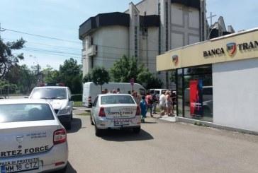 Unul dintre hotii de la Banca Transilvania a fost prins