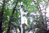 Camere video amplasate langa lacul cu pesti exotici din Parcul Municipal (FOTO)