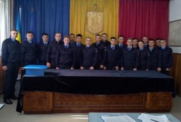 Elevi in practica la Jandarmeria Maramures