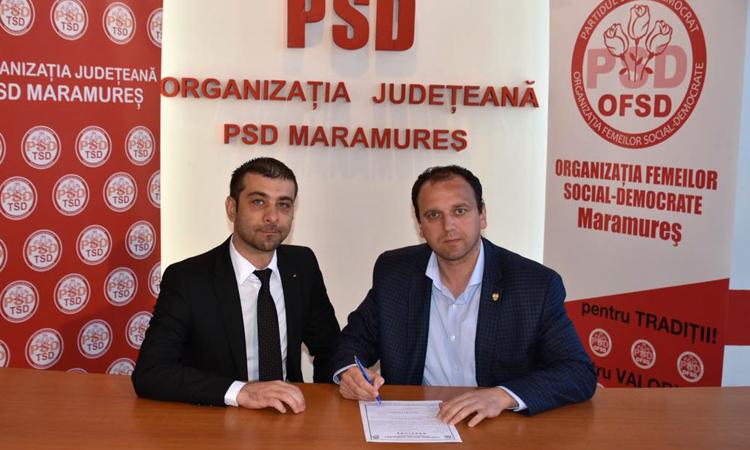 Senatorul Iustin Talpos s-a inscris in PSD Maramures
