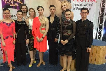 """Medalii pentru dansatorii de la Galactic Dance la concursul """"Baia Mare Dance Festival"""""""