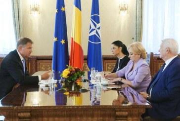 Iohannis, in urma consultarilor cu premierul: E obligatoriu ca politica externa sa se faca numai in interesul Romaniei