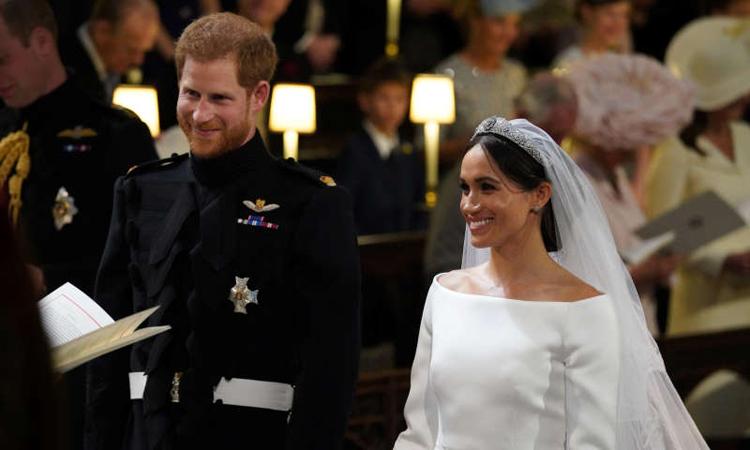 Meghan Markle si printul Harry s-au casatorit