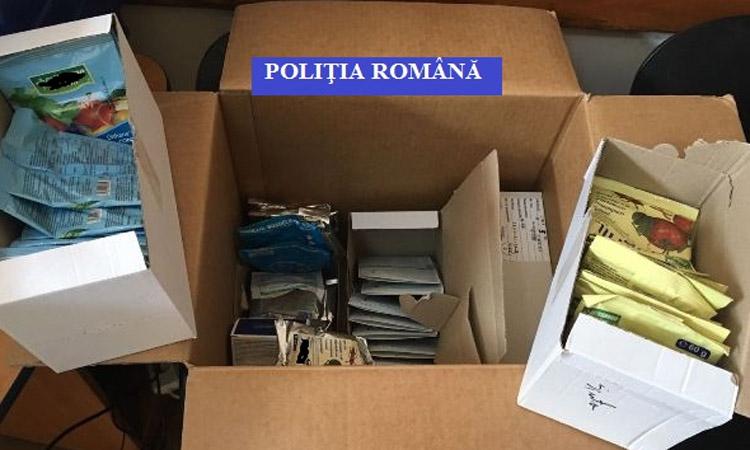 Produse pentru protectia plantelor, confiscate de politistii maramureseni