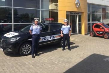 Un Renault Talisman si un Renault Kadjar sunt cele mai noi autospeciale din dotarea Politiei Maramures
