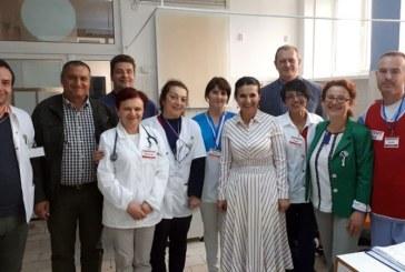 Ministrul Sanatatii, Sorina Pintea, in vizita la Spitalul de RecuperareBorsa