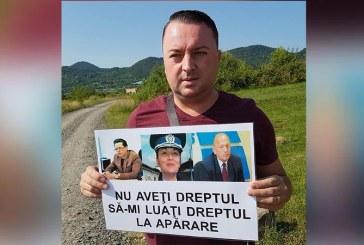 Protest – Jurnalistul Adi Rusu, despre mafia din Politie: Seful Cazierului protejeaza infractorii