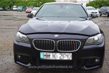 Autoturism marca BMW cautat de autoritatile din Marea Britanie, descoperit in Sighetu Marmatiei