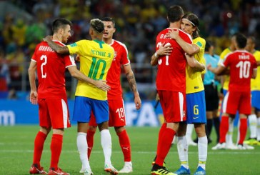 CM 2018: Brazilia, calificata in optimi dupa 2-0 cu Serbia (VIDEO)