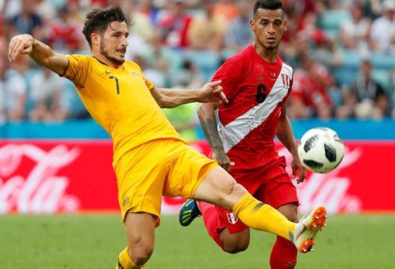 Fotbal – CM 2018: Peru a invins Australia cu 2-0, in Grupa C