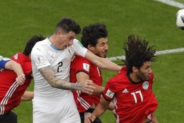 Fotbal – CM 2018: Egipt – Uruguay 0-1